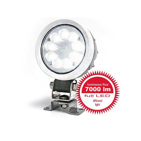 LED work lamp 7000lm diffused light 12LED 1207