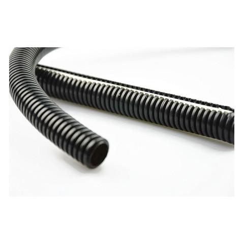 Corrugated pipe hose LDPE black 1m 25/15
