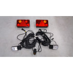 Multifunctional LED rear lamp 7 functions 24V LEFT 1059o24