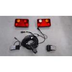 Zestaw oświetlenia LED do lawety 13pin 12V-24V WIOLA II.1