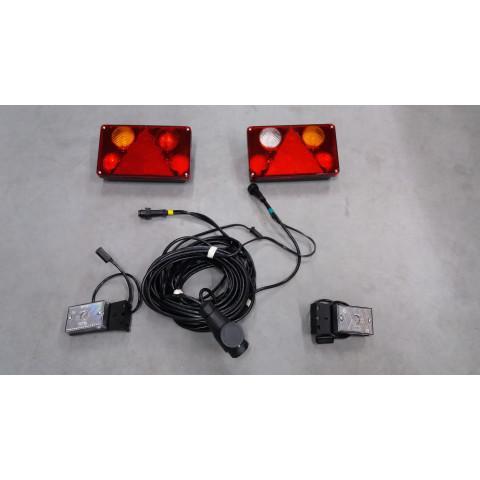 Complete lighting set for tow truck 13pin 12V-24V WIOLA II.1