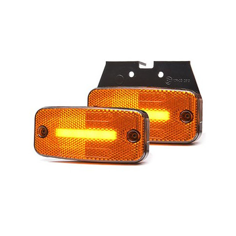 Lampa LED pozycyjna boczna wieszak 12V-24V 1134