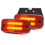 Rear position LED lamp holder 12V-24V 1139