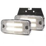 Lampa LED pozycyjna przednia wieszak 12V-24V 1140
