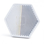 Vorderer selbstklebender Reflektor Weiß 1202