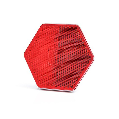 Rear self-adhesive reflector red 1203