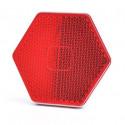 Odblask przyklejany czerwony tył 1203