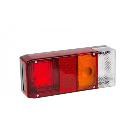 Rear lamp for trailers vans RIGHT (002P)