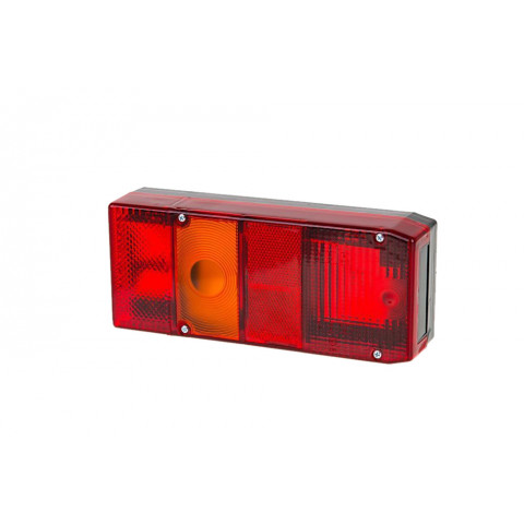 Rear lamp for trailers vans LEFT (002L)