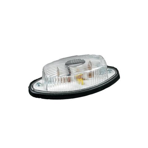 Lampa obrysowa biała łezka (011B)