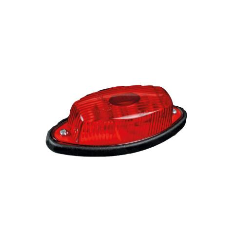 Lampa obrysowa czerwona łezka (011C)