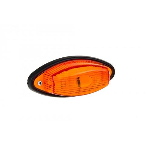 Lampa obrysowa żółta łezka (011Ż)