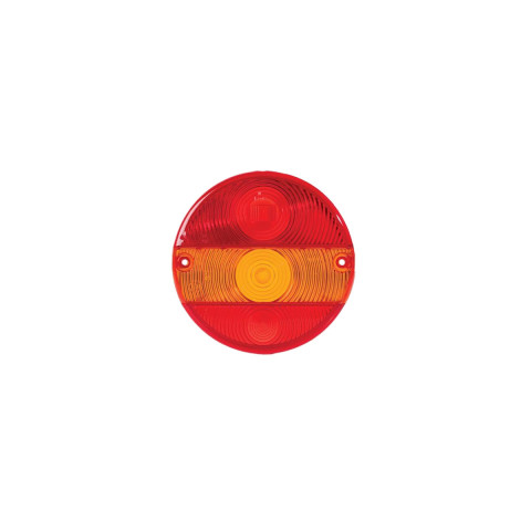 Rear lamp cover lens MD-016, round, universal (MD-016K)
