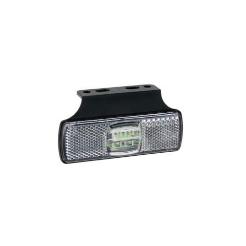 Lampa LED obrysowa biała z uchwytem (017KB)