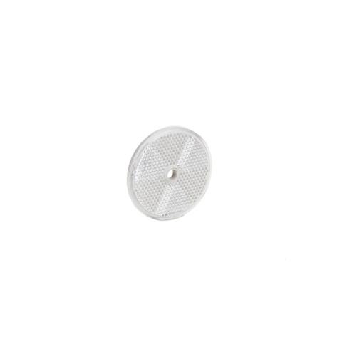 Odblask okrągły śr. 60mm biały (DOB033B)