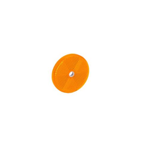 Odblask okrągły śr. 60mm żółty (DOB033Z)