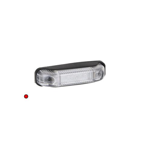 Lampa LED obrysowa czerwona 12V-36V FT013C
