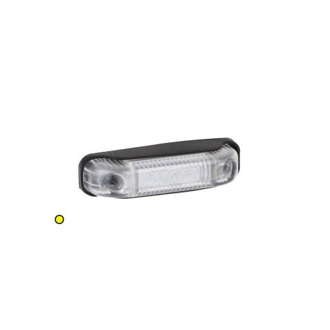 Lampa LED obrysowa żółta 12V-36V FT013Z