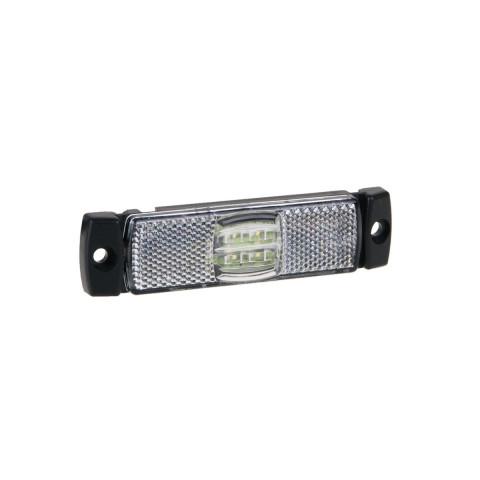 Lampa LED obrysowa biała 12V-36V FT017B