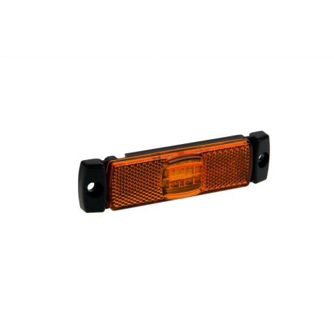 Lampa LED obrysowa żółta 12V-36V FT017Z