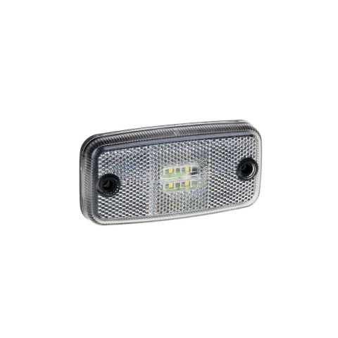 LED clearance lamp white 12V-36V (FT019B)