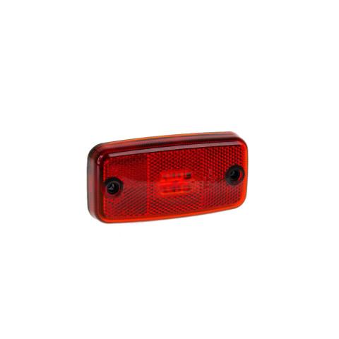 Lampa LED obrysowa czerwona 12V-36V (FT019C)