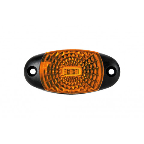 Lampa LED obrysowa żółta z przewodem (FT025Z)