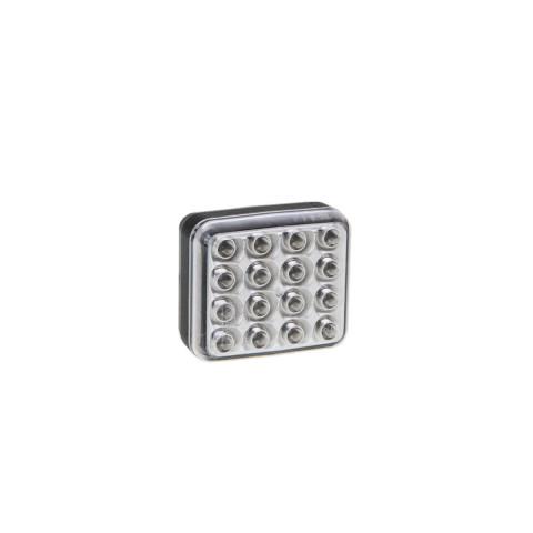 Lampa LED cofania kwadratowa 12V-36V 041