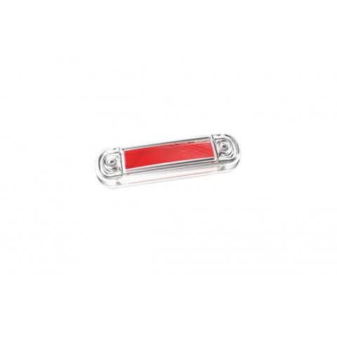 LED clearance marker lamp red 12V-30V (FT045C)