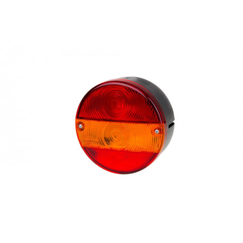 Rear lamp round numberplate light LEFT (MD016L)