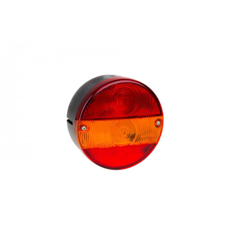 Rear lamp round without numberplate light RIGHT (MD016P)