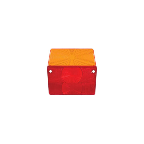 Rear lamp cover lens for trailers (002K)