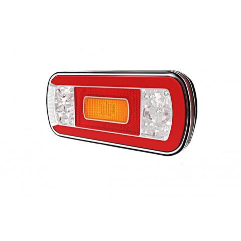 Lampa LED tylna 5 funkcji 12V-36V FT130NT COF