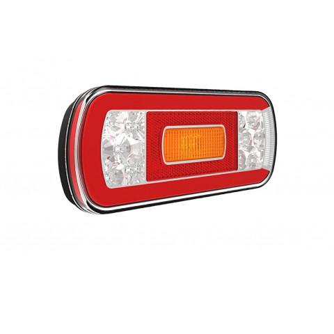 Rear LED lamp 5 functions 12V-36V FT130NT PM