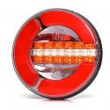 Lampa LED tylna 3 funkcje 12V-24V 32 LED 1130 12F