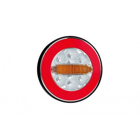 LED round rear lamp 3 functions 12V-36V FT113