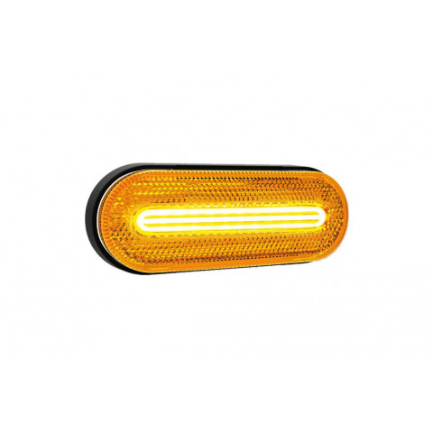 Lampa LED obrysowa żółta 12V-36V 070Z