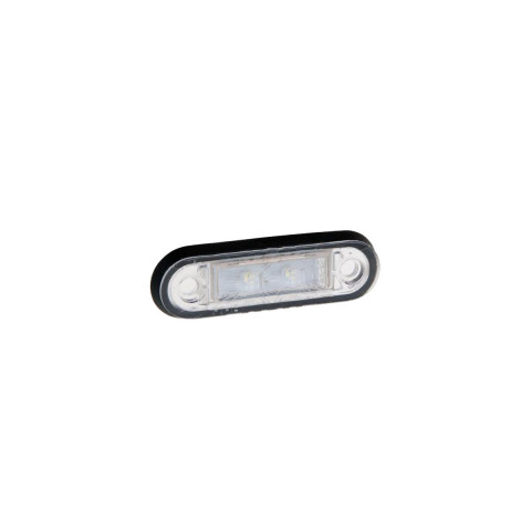 Lampa LED obrysowa biała 12V-36V (FT015B)