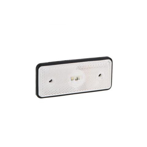 Lampa LED obrysowa biała 12V-36V FT013B