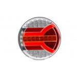 Lampa LED 4 funkcje NAVIA dynamiczny kier. LZD2342