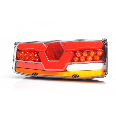 Multifunctional LED rear lamp 7 functions 24V LEFT 1059o24