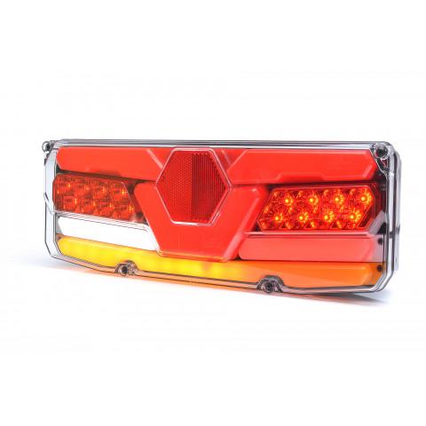 Multifunctional LED rear lamp 7 functions 12V-24V LEFT 1196DD