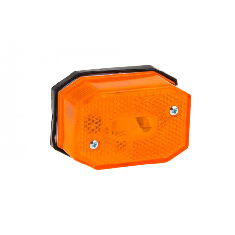 Side marker lamp round amber LO213