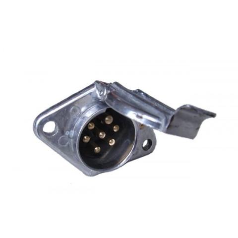 """EURO """"N"""" aluminium socekt with pin 24V"""