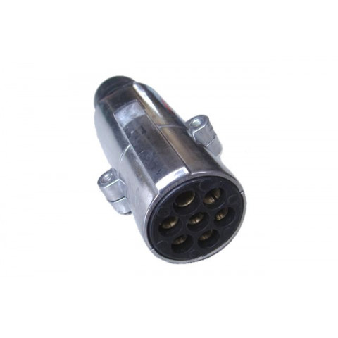 "EURO ""N"" aluminium plug without pin 24V"