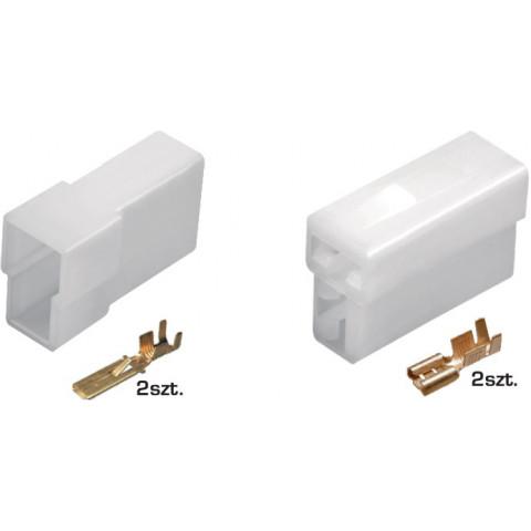 Złącze kablowe E+J 2-przewodowe TQZ-02AB