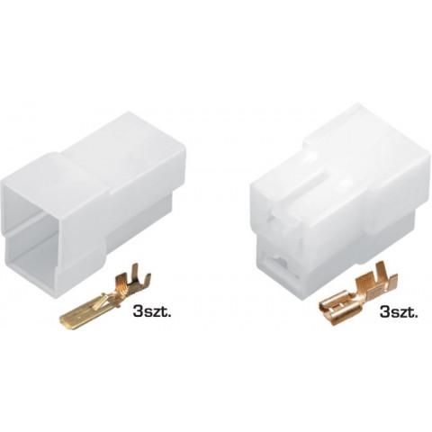 Złącze kablowe E+J 3-przewodowe TQZ-03AB