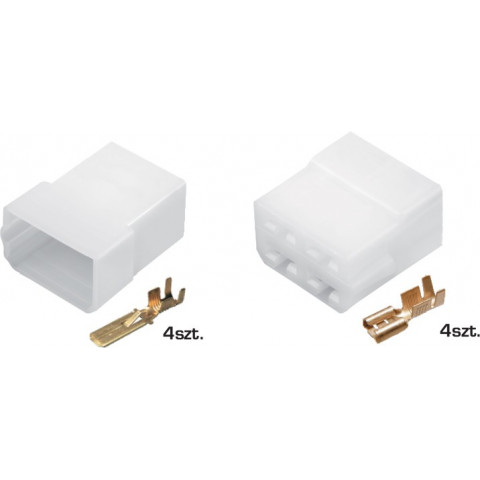 Cable connector E+J 4-wire TQZ-04AB