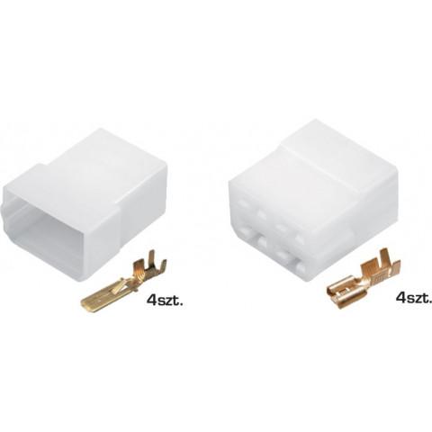 Złącze kablowe E+J 4-przewodowe TQZ-04AB