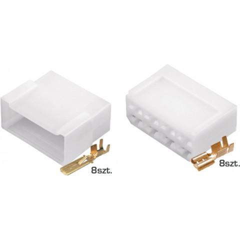 Złącze kablowe E+J 8-przewodowe TQZ-08AB